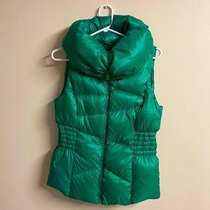 Esprit Green Puffer Vest